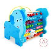 積木寶寶益智力繞珠串珠6-10-11-12個月玩具0-1-2-3周歲嬰兒童