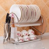 廚房置物架碗架收納瀝水架用品置晾放碗碟架盤子餐具碗筷盒洗碗池  WD 小時光生活館