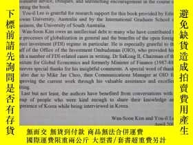 二手書博民逛書店The罕見Korean Economy: The Challen