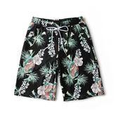 男寬鬆大碼速干沙灘短褲五分平角海灘褲