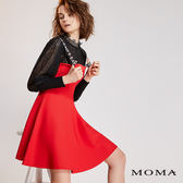 【限時商品】MOMA 文字吊帶針織洋裝