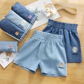 女童牛仔短褲夏季新款外穿百搭洋氣兒童夏裝褲子薄款中大童裝 快速出貨