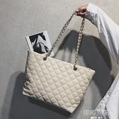 大包包女2021新款潮韓版百搭斜挎單肩包手提購物袋時尚休閒托特包