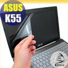 【EZstick】ASUS K55 K55VD 專用 靜電式筆電LCD液晶螢幕貼 (可選鏡面及霧面) 另有客製化服務