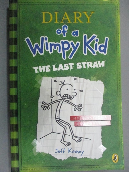 【書寶二手書T9/原文書_GAL】Diary of a wimpy kid-the last straw_by Jeff Kinney