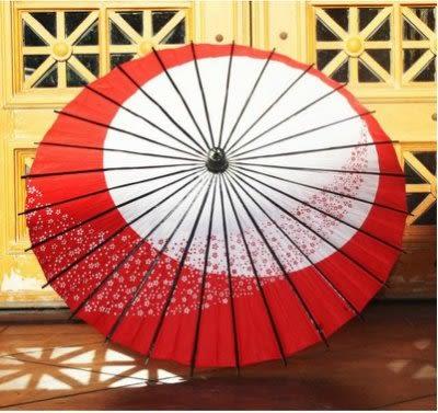 COS道具傘  新款四色入 熱賣 日月小櫻花【藍星居家】