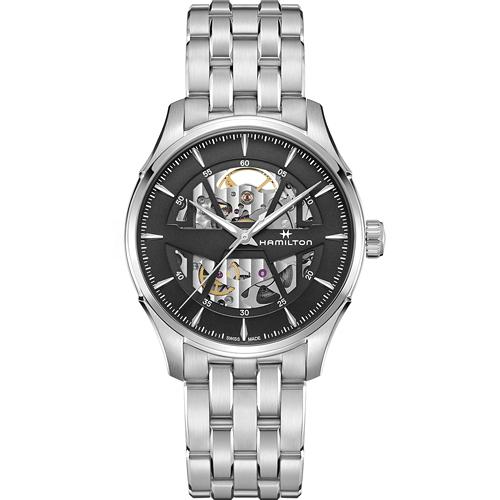 Hamilton 漢米爾頓 JAZZMASTER 爵士系列 SKELETON AUTO機械錶 H42535180