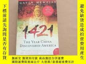 二手書博民逛書店1421:罕見The Year China Discovered America 1421:中國發現美洲(英文原版