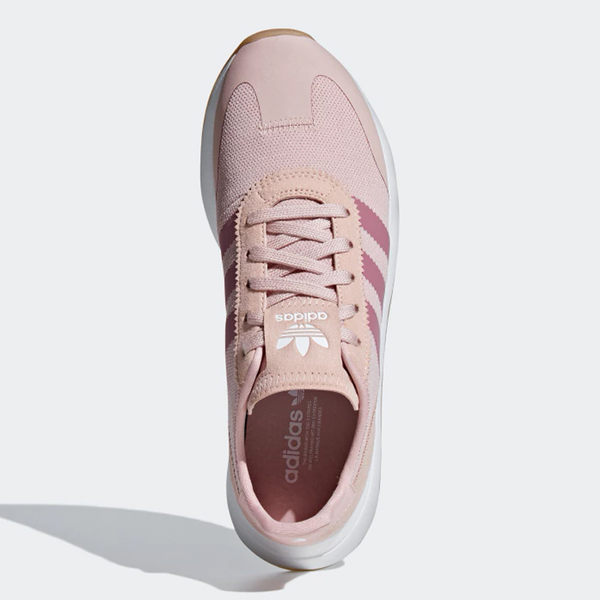 ADIDAS ORIGINALS FLB 女鞋 慢跑 休閒 范冰冰 李聖經 網布 粉【運動世界】B28047