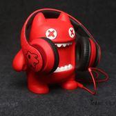 創意頭戴式耳機支架 卡通公仔耳機擺放展示架 可愛立體式耳麥托架全館滿額85折