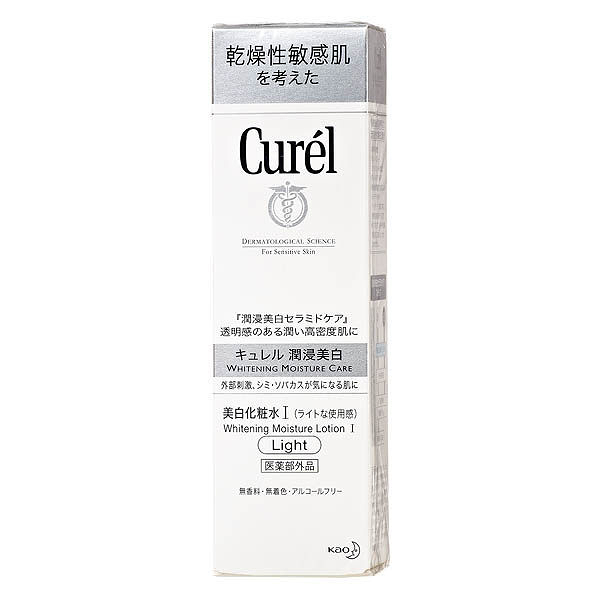 Curel 珂潤 潤浸美白保濕化粧水I (清爽型)140ml 效期2022.06【淨妍美肌】