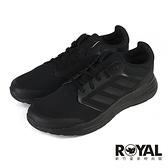 Adidas Galaxy 黑色 網布 休閒運動鞋 男女款NO.B1902【新竹皇家 FY6718】