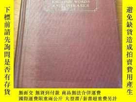 二手書博民逛書店The罕見Saurus of english words and phrases 1935年版本 稀見 精裝版 法