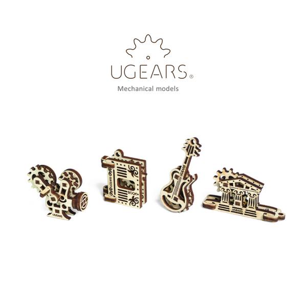 【Ugears 自我推進模型】手癢系列 - 創世搖滾組