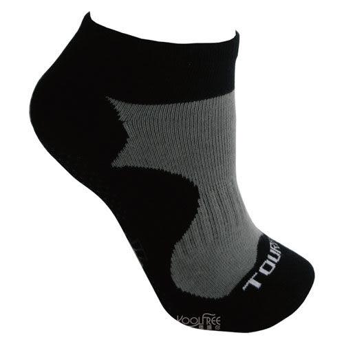 【奇買親子購物網】旅行家koolfree 抗菌排汗導氣素色毛圈瑜珈襪