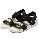 PUMA SOFTRIDE SANDAL 男女鞋 涼鞋 休閒 舒適 可調式 黑白【運動世界】37510402