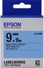 LK-3LBP EPSON 標籤帶 (藍底黑字/9mm) C53S653406