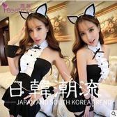 性感女主播可愛兔女郎制服貓女郎DS舞臺表演服裝兔子裝寫真派對裝