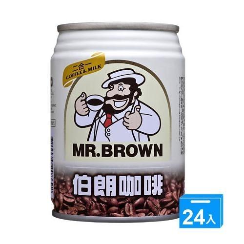 金車伯朗2合1咖啡240ML*24【愛買】