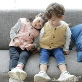 兒童馬甲夾棉寶寶馬甲男童秋冬兒童馬甲女童嬰兒純棉背心小童春秋季內外穿 新年禮物