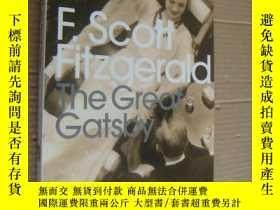 二手書博民逛書店The罕見Great Gatsby【了不起的蓋茨比,菲茨傑拉德,