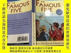 二手書博民逛書店The罕見famous five:著名的五個Y200392