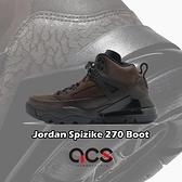 Nike 籃球鞋 Jordan Spizike 270 Boot 棕 黑 男鞋 氣墊 運動鞋 【ACS】 CT1014-200