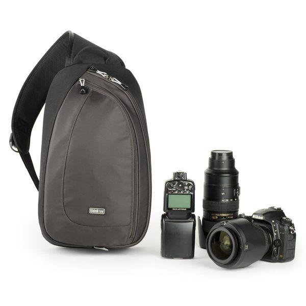 thinkTANK 創意坦克 單肩斜背包 腰包 兩用 類單眼 微單眼 相機包 TurnStyle 20 V2.0 灰 TTP466 正成總代理