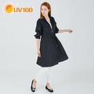 UV100 防曬 抗UV-立領修身風衣外...