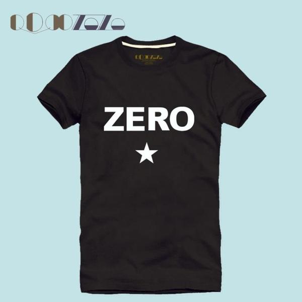 2016新款歐美男士修身型打底衫簡約字母印花純棉圓領短袖T恤潮夏