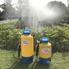 5L8L農用電動打藥噴霧器智慧小型園林澆花高壓點花消毒噴壺鋰電池MBS「時尚彩紅屋」