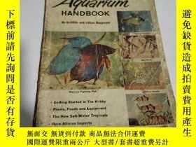 二手書博民逛書店Home罕見Aquarium Handbook:家庭水族館手冊(
