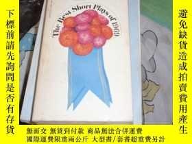 二手書博民逛書店英文原版:the罕見best short plays of 19