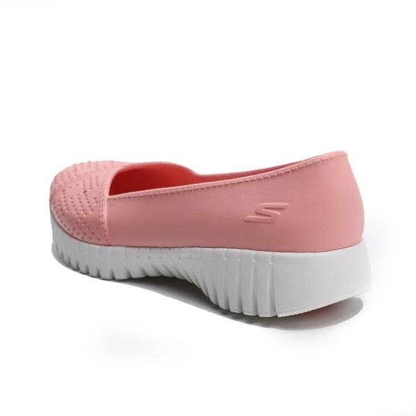SKECHERS 健走鞋 GO WALK SMART 粉紅 膠鞋 橡膠 休閒鞋 女 (布魯克林) 111117LTPK