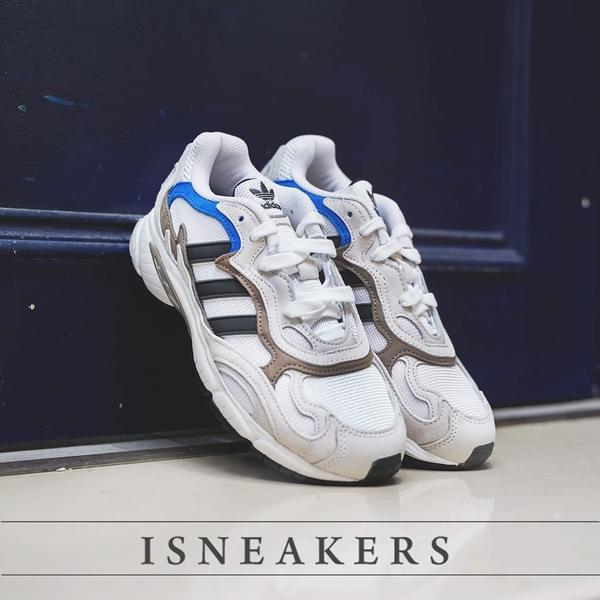 ISNEAKERS Adidas Temper Run 白灰藍 麂皮 老爹鞋 休閒鞋 男鞋 EE7737