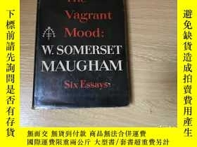 二手書博民逛書店(初版)The罕見Vagrant Mood 毛姆 讀書隨筆集《隨