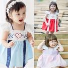 Augelute Baby童衣 女寶寶改良式漢服 小清新中國風飛袖包屁裙 10020