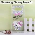 Hello Kitty空壓氣墊軟殼 [搖尾巴] Samsung Galaxy Note 8 N950FD (6.3吋)【三麗鷗正版授權】