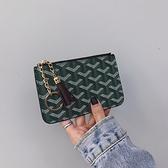手提包手拿包 實用零錢包硬幣包男女小錢包拉錬短款鑰匙包卡包 阿卡娜