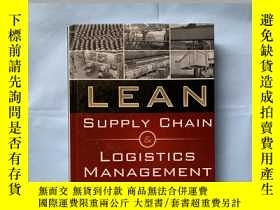 二手書博民逛書店Lean罕見Supply Chain And Logistics