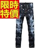 牛仔褲-優質新款丹寧男休閒長褲59i39【巴黎精品】