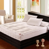 [超豐國際]五星級酒店羽絲絨榻榻米床墊軟加厚保護墊被 單人雙