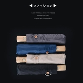 韓國全自動折疊女小清新森系簡約女神學生雨傘文藝少女心晴雨兩用 居享優品