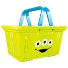 【震撼精品百貨】玩具總動員_Toy Story~日本迪士尼塑膠手提雙面圖案置物籃-三眼怪