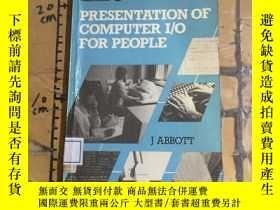 二手書博民逛書店Presentation罕見of Computer 1 0 fo