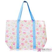 L'ERBOLARIO 蕾莉歐 牡丹環保袋(37X13X34cm)[購物袋]【美麗購】