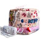 加熱帽 質量好耐用發膜護理打蠟可持續加熱12小時電帽電熱帽加熱帽 玫瑰