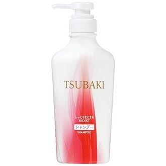 TSUBAKI 思波綺 植萃瞬透保濕洗髮精 450ml