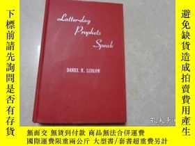 二手書博民逛書店LATTER-DAY罕見PROPHETS SPEAK(五十 英文