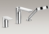 【麗室衛浴】美國 KOHLER ALEO   三件式 浴缸龍頭 K-72292T-4-CP